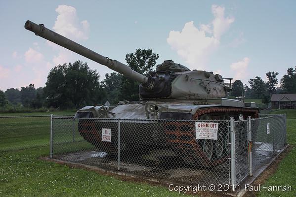 Memorial Park - Clarksburg, OH - M60A3