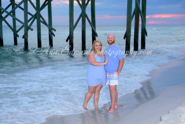 Mr. and Mrs. Jones. First Anniversary!  |  Panama City Beach