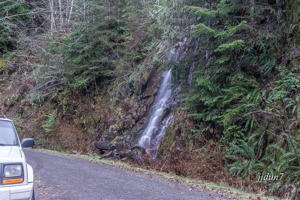 Molalla forest road