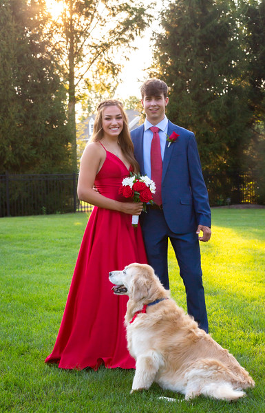 Nat and Jack Prom 2020