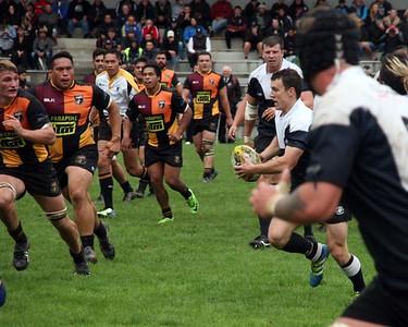 Round 3 Petone (43) v Upper Hutt Rams (14)