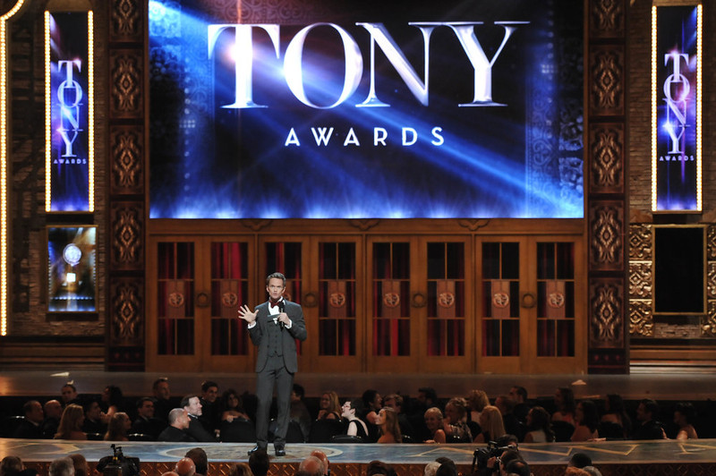 . Host Neil Patrick Harris introduces the 67th Annual Tony Awards, on Sunday, June 9, 2013 in New York.  (Photo by Evan Agostini/Invision/AP)