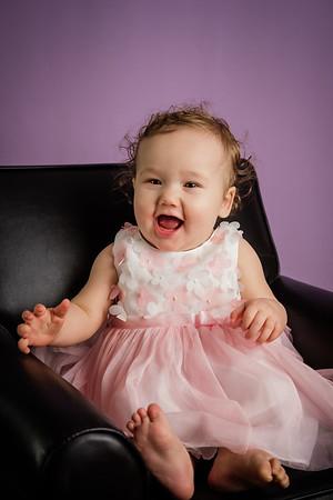 Aubrey 9 Months