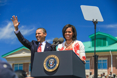 President & First Lady Visit Fort Stewart, GA