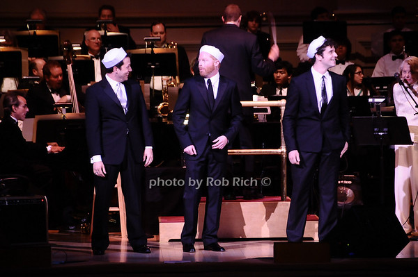 John Tartaglia, Jesse Tyler Ferguson, Michael Urie photo by Rob Rich © 2010 robwayne1@aol.com 516-676-3939