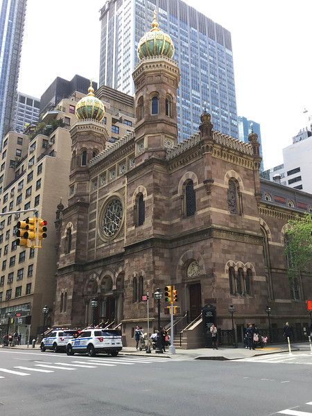 Central Synagogue, Lexington Avenue at 55th St.
