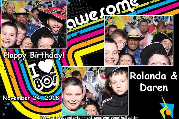 20181124 Rolanda & Daren's Birthday Party