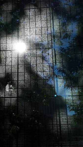 Kati - Holocaust Memorial in Boston 2016