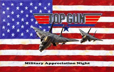 Ice Bears (3) v Huntsville (4) OT 11-8-19 Top Gun-Military Appreciation Night
