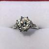 2.63ct Old European Cut Diamond Solitaire, GIA K VS2 10