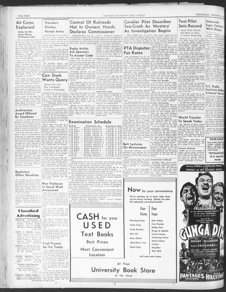 Daily Trojan, Vol. 30, No. 74, January 25, 1939