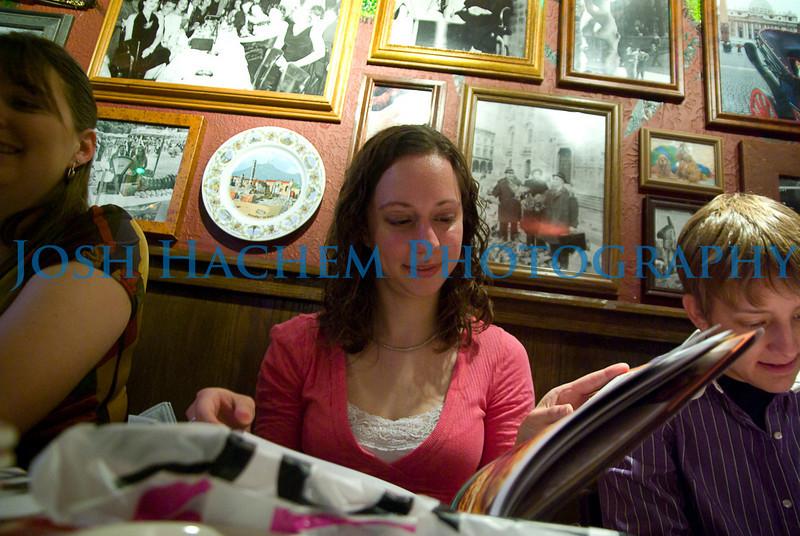 February 13, 2009  C's Birthday Dinner 082