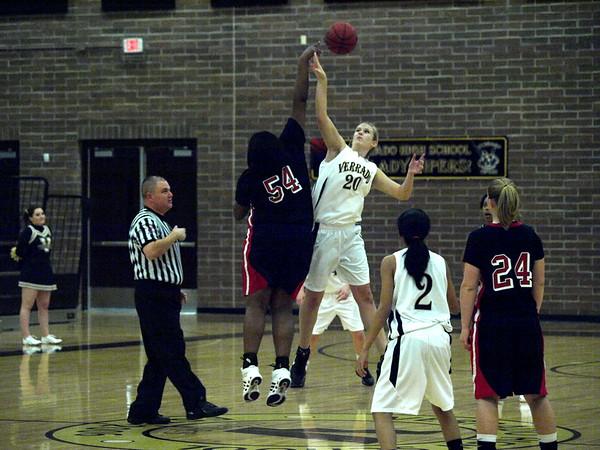 Basketball Varsity Lady Vipers vs. Dysart 1/13/2009