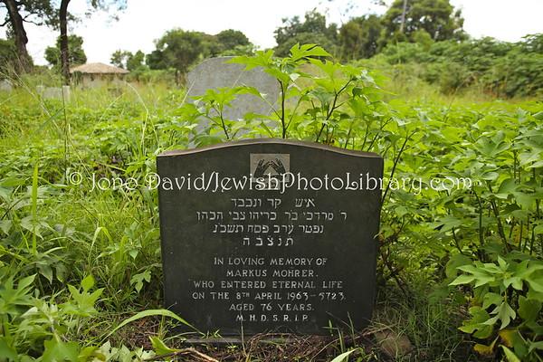 ZAMBIA, Mufulira. Jewish Cemetery (2.2013)