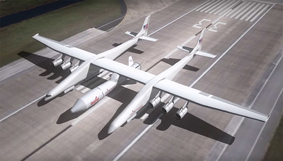 Stratolaunch: The largest aircraft ever built by Scaled Composites