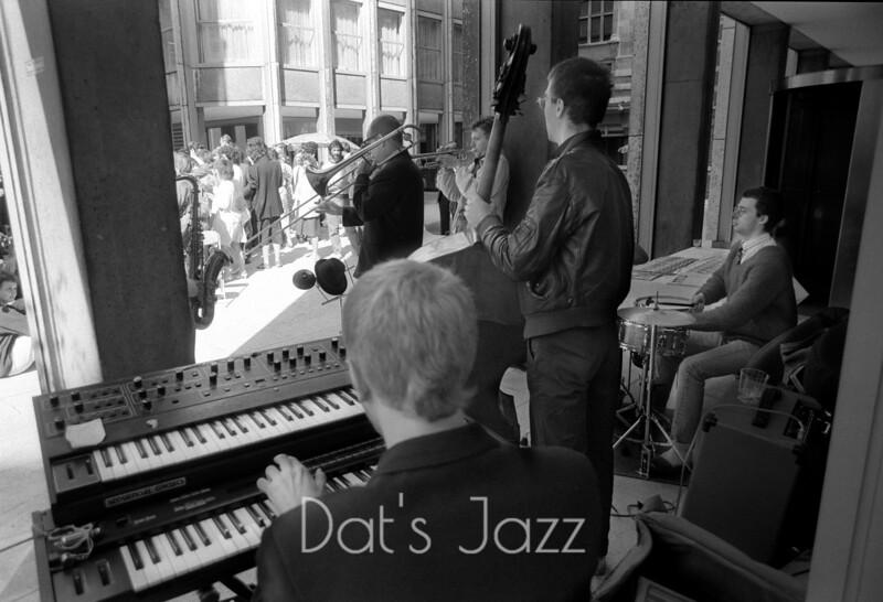DJANGO BATES, MICK HUTTON & STEVE ARGUELLES with ASHLEY SLTER & JOHN EACOTT