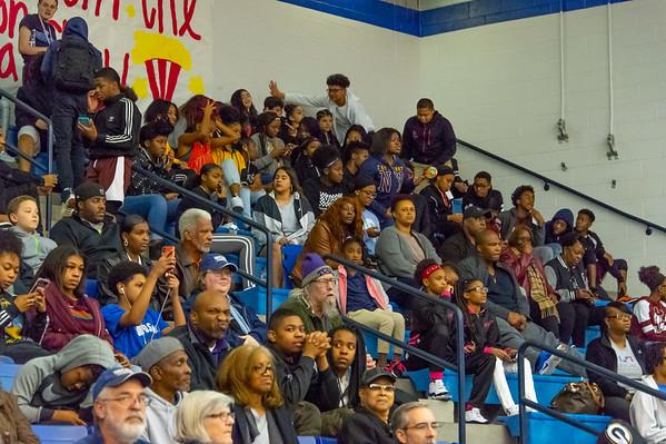 Varsity Senior Night vs. Lamar 02-12-19