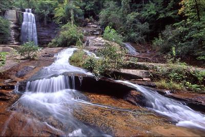 South Carolina Waterfall