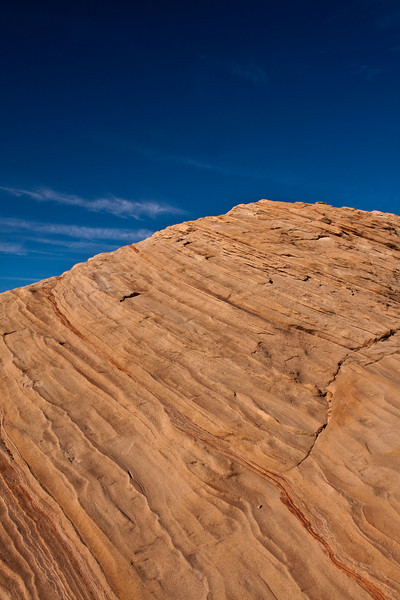 Glen Canyon Dam and Sandstone Formations - Nov 2010