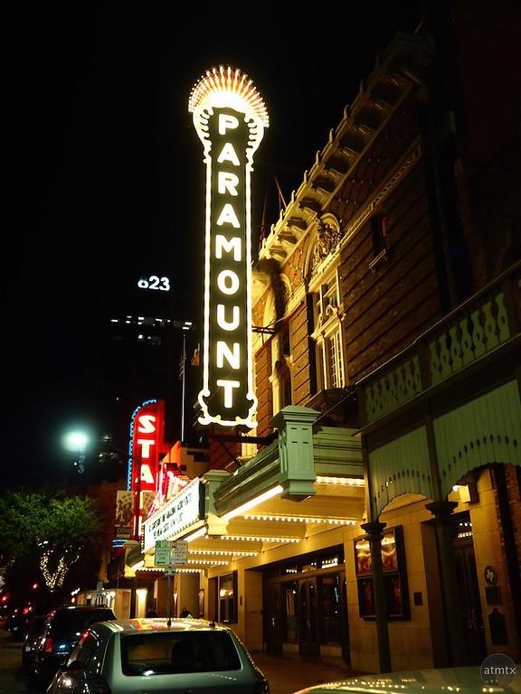The Paramount at Night - Austin, Texas