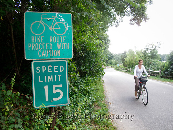 Edgartown, upper main street, bicycles, safety, bike lanes
