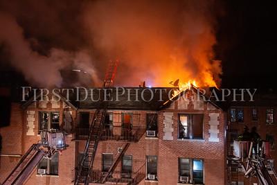 Manhattan 4th Alarm Box: 1797 74 Post Ave 5 Jan 21