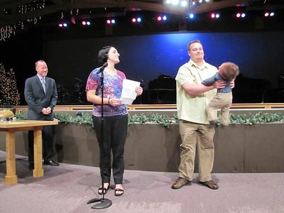 Kellan's Baptism