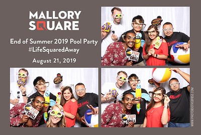 Mallory Square End of Summer Pool Party