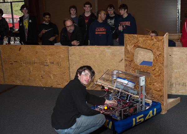 FIRST Robotics Practice Field 2-16-2013 Altle VA