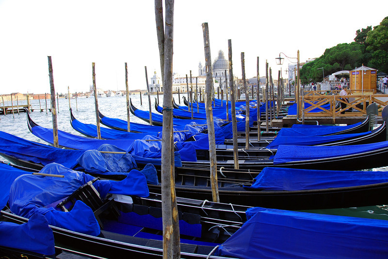 Gondolas in Blue
