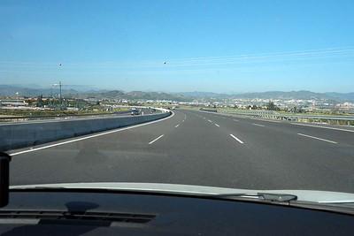 Travelling from La Linea to La Herradura, Spain