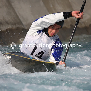 GB Canoe Slalom 2014 Selection Trials - Day 2 Finals