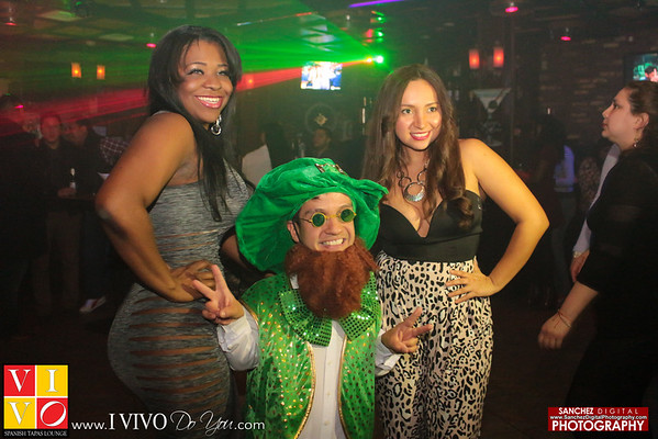 Throwback 3-12-15 Vivo Lounge St. Patrick's Day
