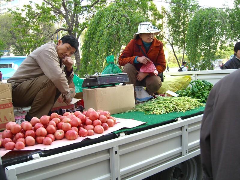 Urumqi street market - Kaitlin Lutz