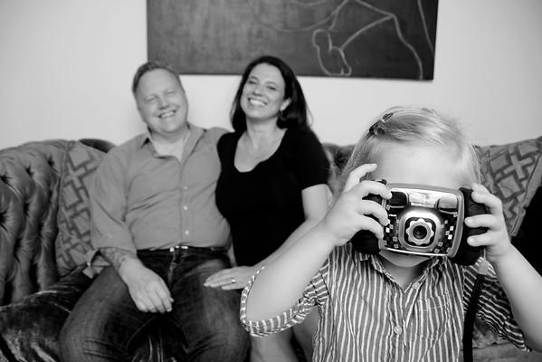 Vanessa Gomes & Frank Birchfield Family Portraits
