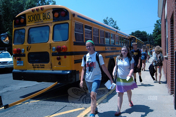 Newtown Middle School last day of school (June 21, 2013)