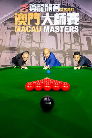 Macau Masters - 25-26 October, 2018