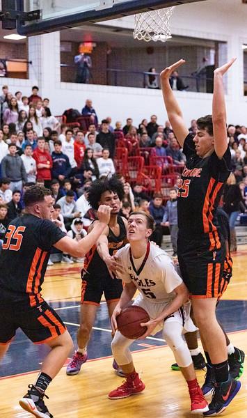 Tuckahoe Varsity Basketball vs Eastchester