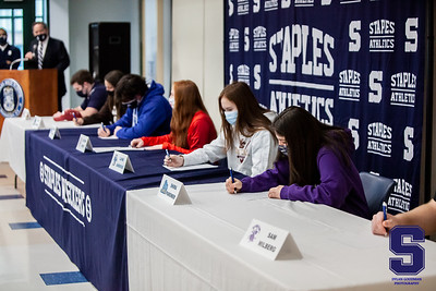 Staples High School - Signing of the National Letter of Intent - February 3, 2021
