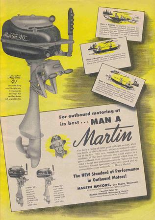 Vintage Outboard Ads
