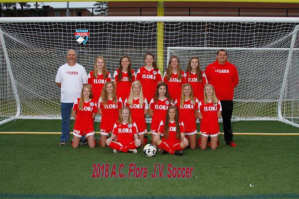 2018 Girls Soccer  JV