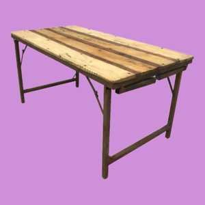 Folding Trestle Tables