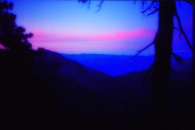 Marci Pacific Crest Trail 1981