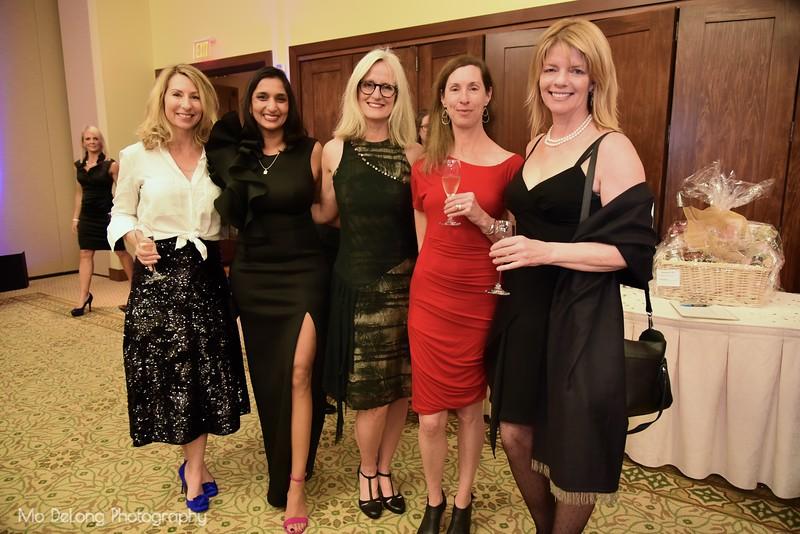 Cori Van Allen, Shonalie Guinney, Lisa Shanower, Susan Burns and Jane Harrington