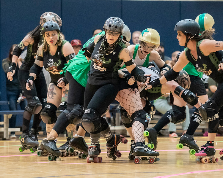 5/11/2019 AZRD Valley Rollers vs Casa Grande Big City Bombers ©Keith Bielat