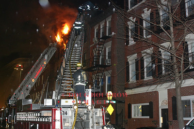 Boston, MA - 6th Alarm, 130 Endicott Street, 2-22-07