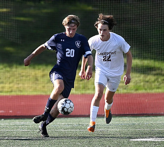 Freeport at Yarmouth in boys soccer