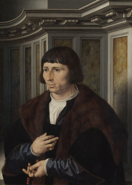 Man with a Rosary