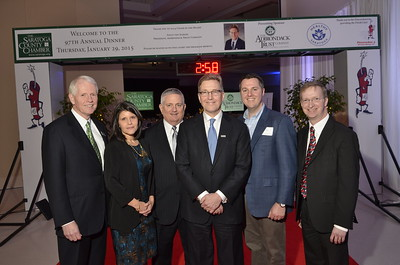 SARATOGA COUNTY CHAMBER DINNER