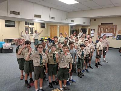 Troop 98 Meetings Summer 2018